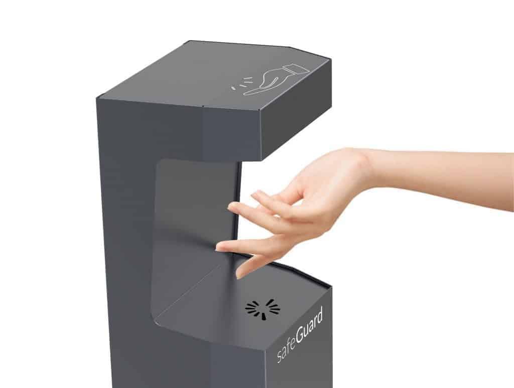 SafeGuard Contactless Hand Sanitiser Dispenser