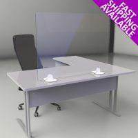 desktop freestanding sneeze and cough guard