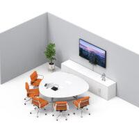 av equipment microsoft teams rooms small