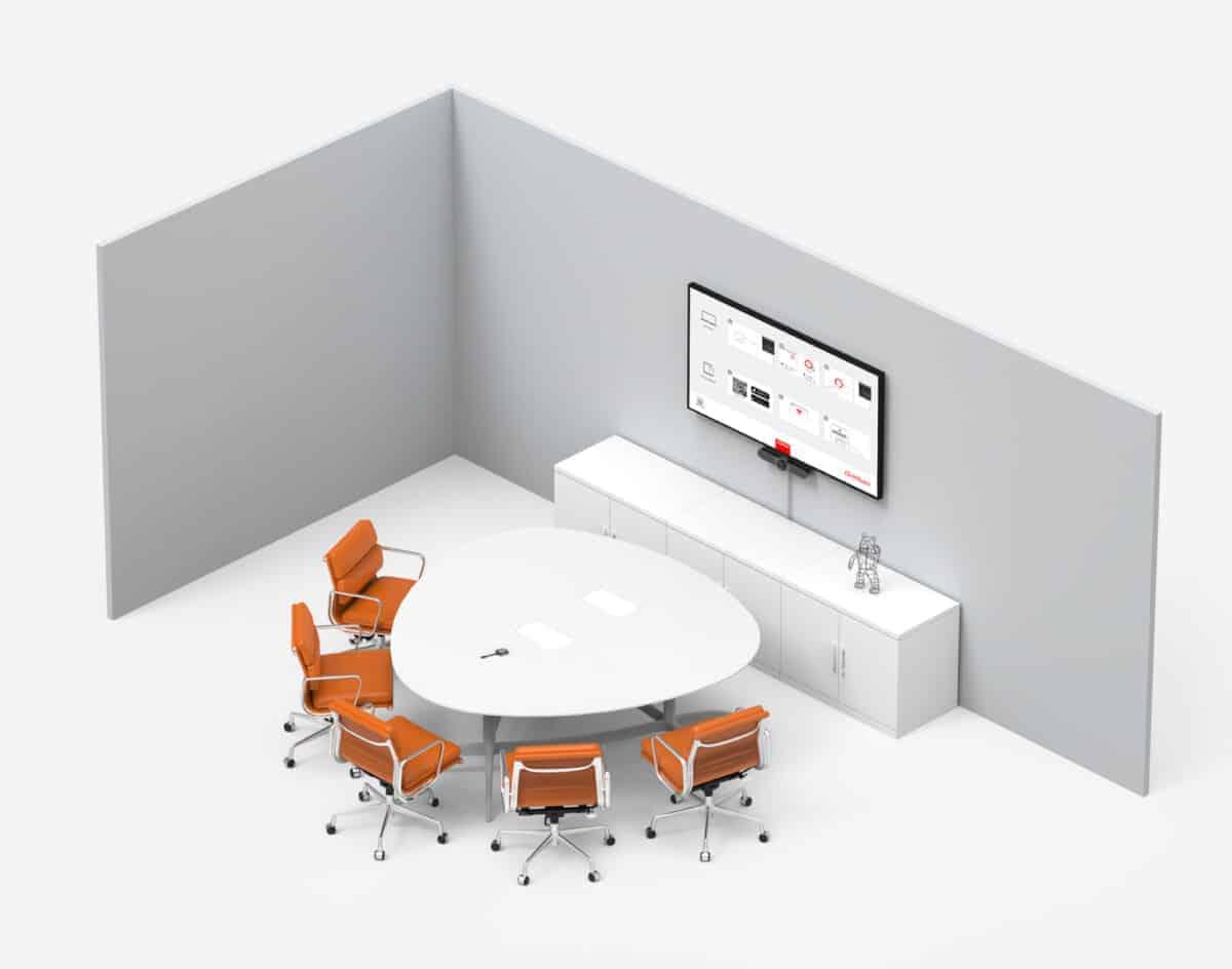 barco clickshare logitech meetup bundle room solution